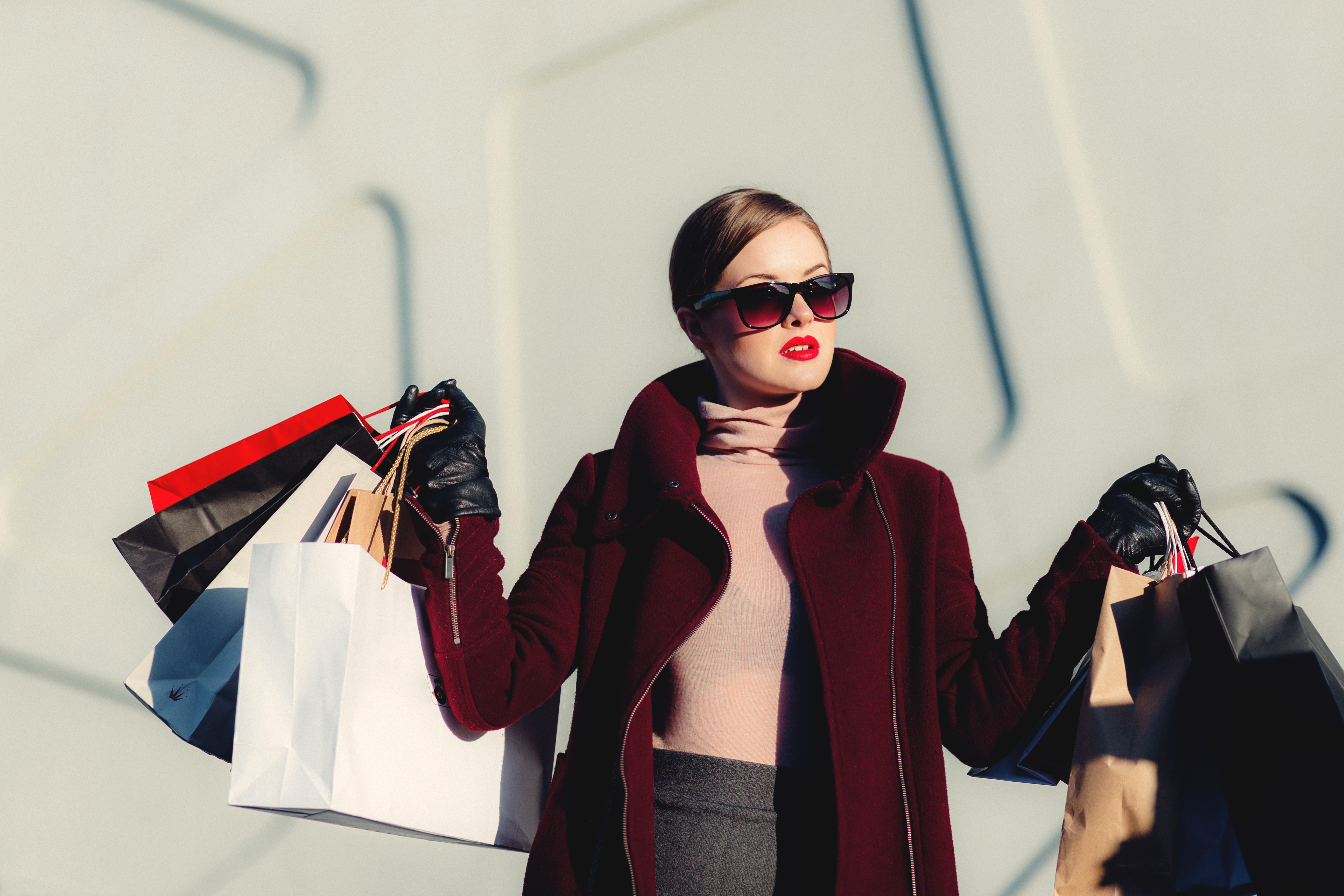 Status consumption includes buying high-end clothes