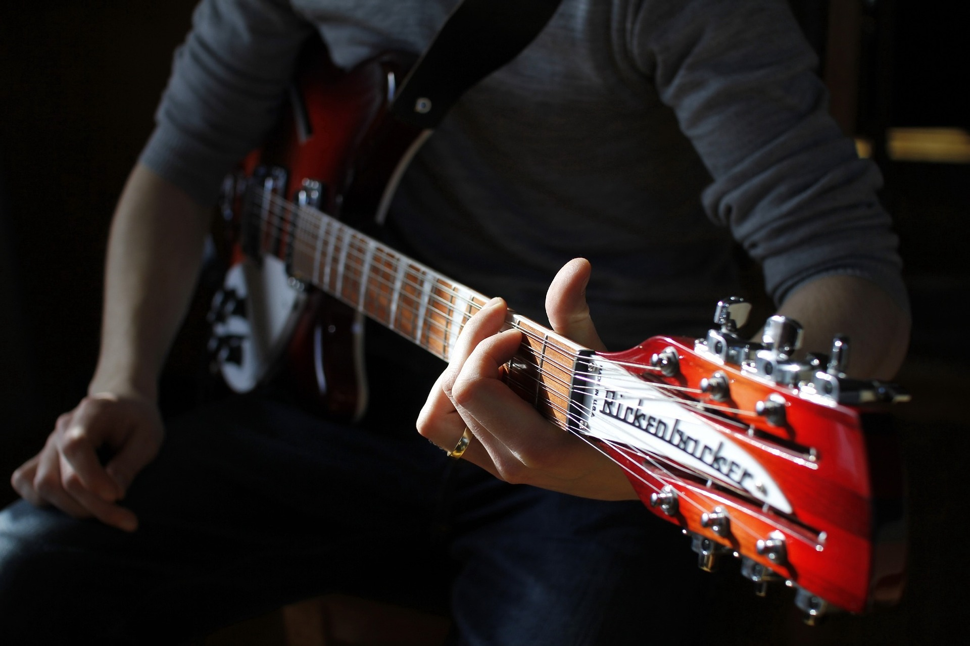 Hihgh-end guitars, like Rickenbackers, are a source of personal gratification